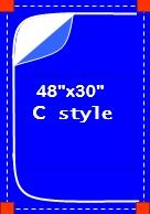"""48"""" x 30"""" C-Style Zipper Door"""