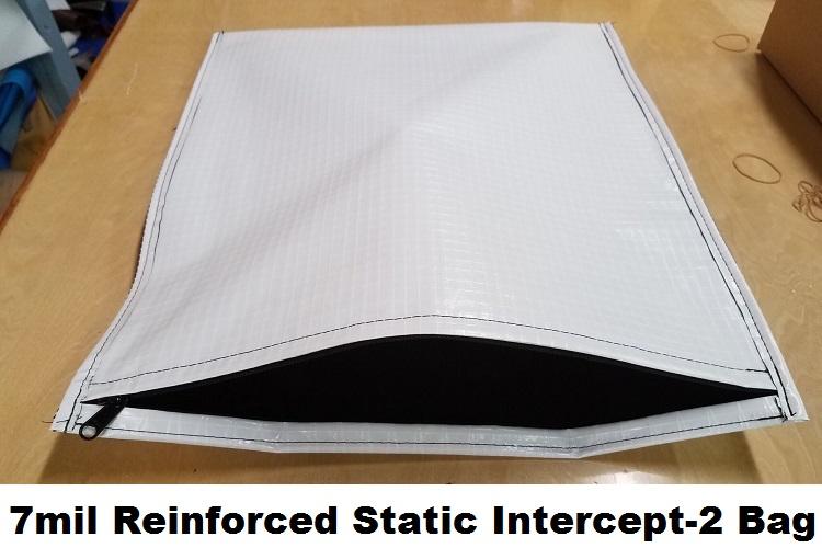 7mil Reinforced Static Intercept-2 Bag