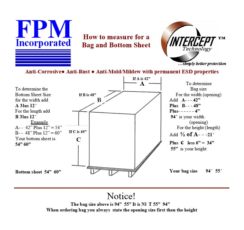How to Measure Intercept Bags